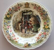 Wedgwood Foxwoods Tales Bone China Plate Brian Patterson Grandpa's Old Bicycle