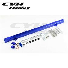 Aluminum Fuel Rail Kits For Toyota Supra 2JZ 3.0L MK4 93-97 2JZ-GTE-Blue