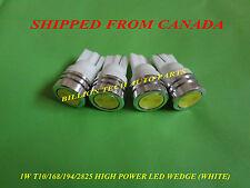 4 PCS 1W T10/168/194/2825 SMD HIGH POWER LED BULB (WHITE)