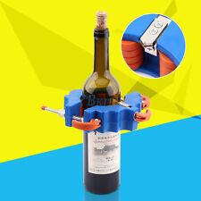 Flaschenschneider Glassschneider für Home DIY Bier Wine Flaschen Schneiden Blau