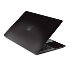 """Skin Decal Wrap for MacBook Pro 13"""" Retina Touch  Solid Black"""