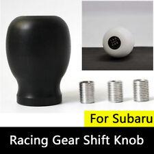 5MT 5 Speed Racing Gear Shift Knob Legacy For Subaru WRX Impreza STi Black