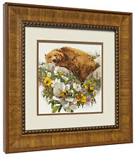 "Bev Doolittle ""Bugged Bear"" Matted and Framed Art Print"