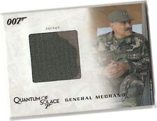 James Bond Archives 2009 - QC06 General Medrano's Jacket Costume Card 685/850