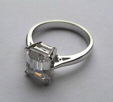 Gioielli di lusso smeraldo in argento sterling 925 parti su 1000