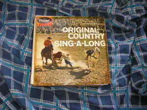"""7""""CountyCliffie StoneOriginal Country Sing-A-LongE"""