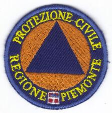 [Patch] PROTEZIONE CIVILE REGIONE PIEMONTE cm 6 toppa ricamata ricamo -070p