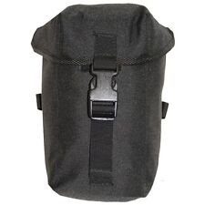 NEW BLACK SAS SF WATER BOTTLE POUCH CANTEEN SECURITY AIRSOFT CRUSADER UNIT