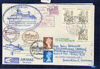 58948) LH FF Frankfurt - Edinburgh GB 28.3.99, Brief SP Dt.BP MeF 1762 Religion