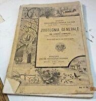 ZOOTECNIA GENERALE di A. LEMOIGNE - U.T.E.T. 1900 illustrato