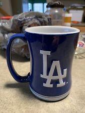 Ceramic Relief Mug Dodgers Navy Blue 14oz L.A