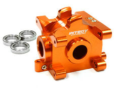 C26305ORANGE Integy Billet Machined Gear Box for HPI 1/10 Scale E10 On-Road