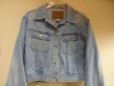 Abercrombie & Fitch Blue Jeans Denim Outfitters Jacket Coat Sz M 100% Cotton