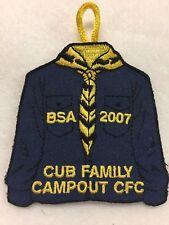 Boy Scouts - 2007 Central Florida Council - Cub Family Campout patch
