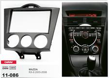 Carav 11-086 2din marco adaptador de radio Mazda RX-8 2003-2008