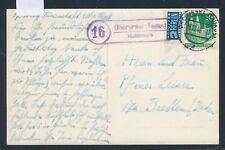 25509) Landpost Ra2 16 Oberursel (Taunus) Hohemark, Karte 1949