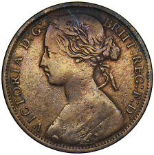 More details for 1862 penny - victoria british bronze coin