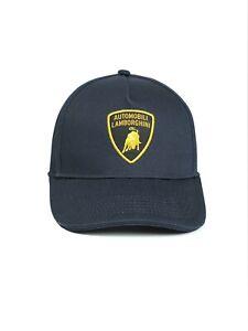 LAMBORGHINI Basic Shield-Emblem Cap Navy