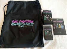 1D One Direction 2015 Tour VIP Goods Mobile Phone Battery Charger Bag Booklet