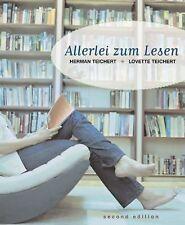 Allerlei Zum Lesen by Herman U. Teichert and Lovette Teichert (2004, Paperback)