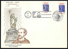 1986-1997 EMISSIONS COMMUNES 7 ENVELOPPES FDC NUMEROTEES (ref F133ag)