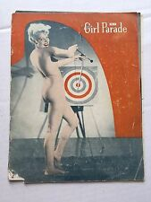"Authentic 1950s ""Girl Parade"" Nude Art Photo Magazine"