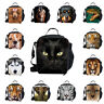 Cool Animal Pug Dog Horse Thermal Cooler Insulated lunch box Bag Travel School