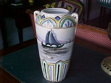 "Vase 10"" Royal Nippon Nishiki Marine Scene 1906--1921"