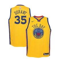 6d2aa3f6825 Nike Golden State Warriors Durant City Edition Swingman Jersey Youth XL NWT