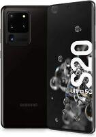 "Samsung Galaxy S20 Ultra 5G SM-G988 128GB Dual SIM 6,9"" Simlockfrei Cosmic Black"