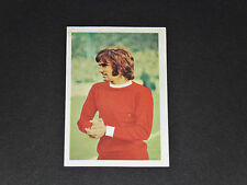 #197 GEORGE BEST MANCHESTER UNITED FKS PANINI FOOTBALL ENGLAND 1970-1971