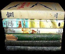 Lot of 7 vintage 'THE BOBBSEY TWINS' BOOKS  Grosset & Dunlap  Whitman Publishing
