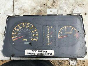2006 ISUZU NPR W4500 W5500 DASH GAUGE CLUSTER 8973794320