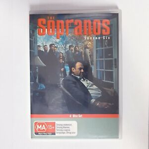 The Sopranos Season 6 DVD TV Series Region 4 AUS Free Postage - Crime Drama