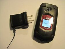 GOOD Kyocera DuraXV E4520 Rugged Camera Global Bluetooth Flip VERIZON Cell Phone