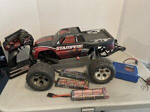 Traxxas Stampede VXL 4wd Brushless 1/10 Truck With Batteries Rtr