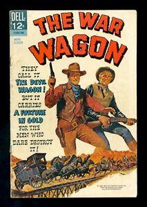 THE WAR WAGON Movie Classic 1967 Dell VG/FN John Wayne