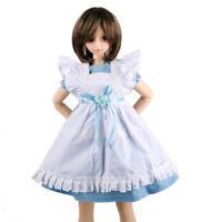 [wamami]220# Blue Maid Dress/Suit/Outfit 1/4 MSD AOD DOD DZ BJD Dollfie