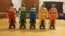 Bioman Ranger Key Set Sentai Gokaiger Mighty Morphin Power Rangers