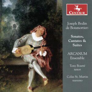 Tony Boutté - Joseph Bodin de Boismortier: Sonates, Cantates & Suites