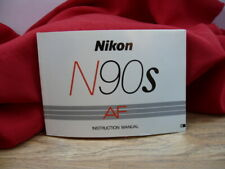 Nikon N90s instruction manual Item # 4