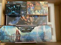 LORDS OF HELLAS  Core Box KickStarter + Terrain Expansion + Extras