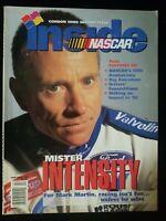 January/February 1998 INSIDE NASCAR Magazine Mark Martin cover Jeff Gordon wins