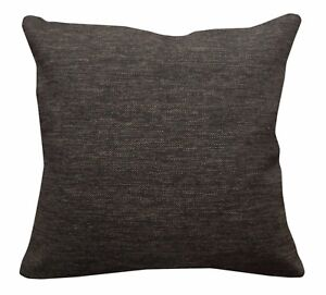 Qa105Ca Brown Rough Linen Blend Check Stripe Cushion Cover/Pillow Case*Cust-Size
