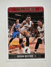 2017-18 Hoops Base #65 Hassan Whiteside - Miami Heat