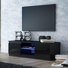 TV Schrank Lowboard Fernseher Hochglanz Schrank TV Möbel  Fernsehtisch 120cm LED