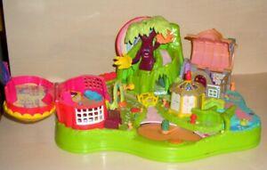 Polly Pocket ○ Große Dschungel-Stadt TOLL - ohne Figuren PP28