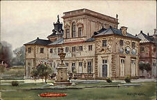 Wilanów Polen Polska AK ~1910 Palac od Strony Ogrodu Schloss Palace ungelaufen