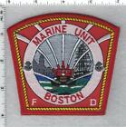 Boston Fire Department (Massachusetts) Marine Unit Shoulder Patch