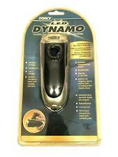 Dorcy Dynamo Hand Power Emergency Flashlight 3 LED 5 MM Bulbs No Battery Needed